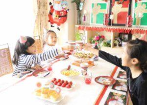 お子様のクリスマス・パーティー