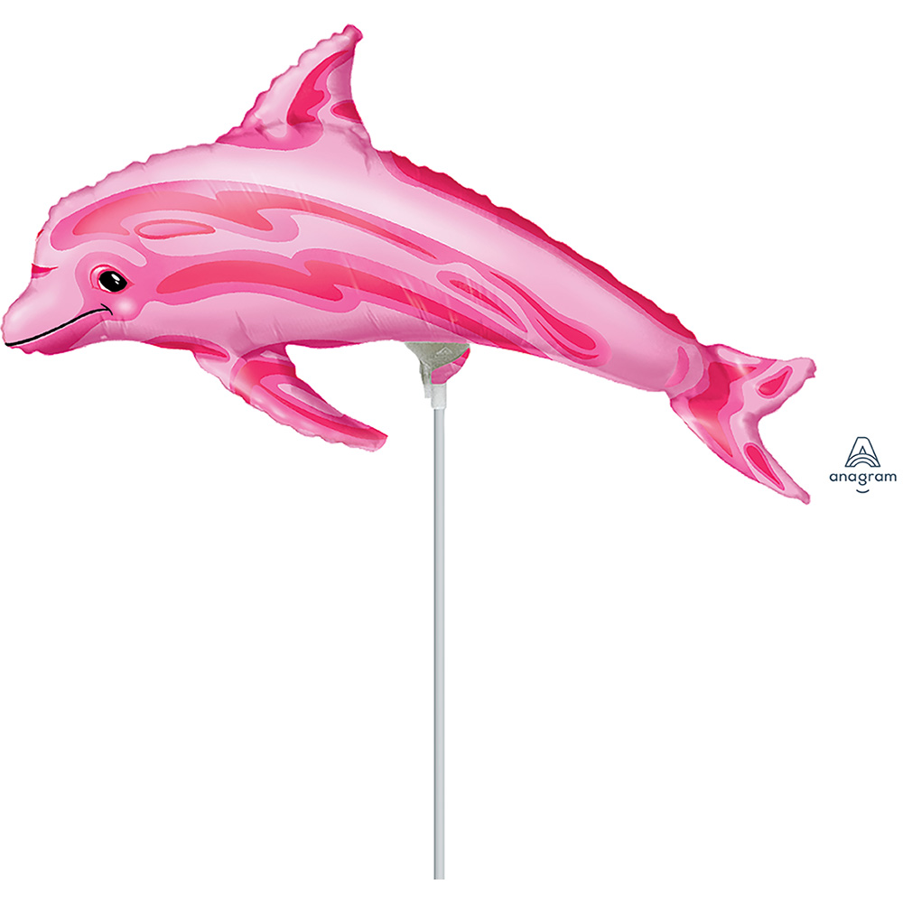 Mini Shape Pink Dolphin