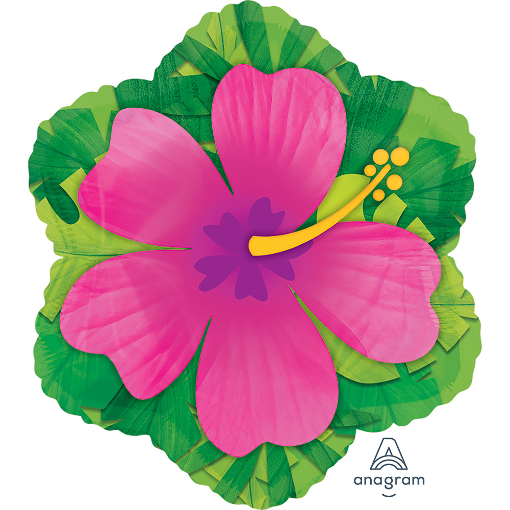Pink Hibiscus Junior Shape