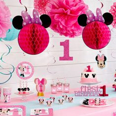 Disney Minnie's 1st Birthday