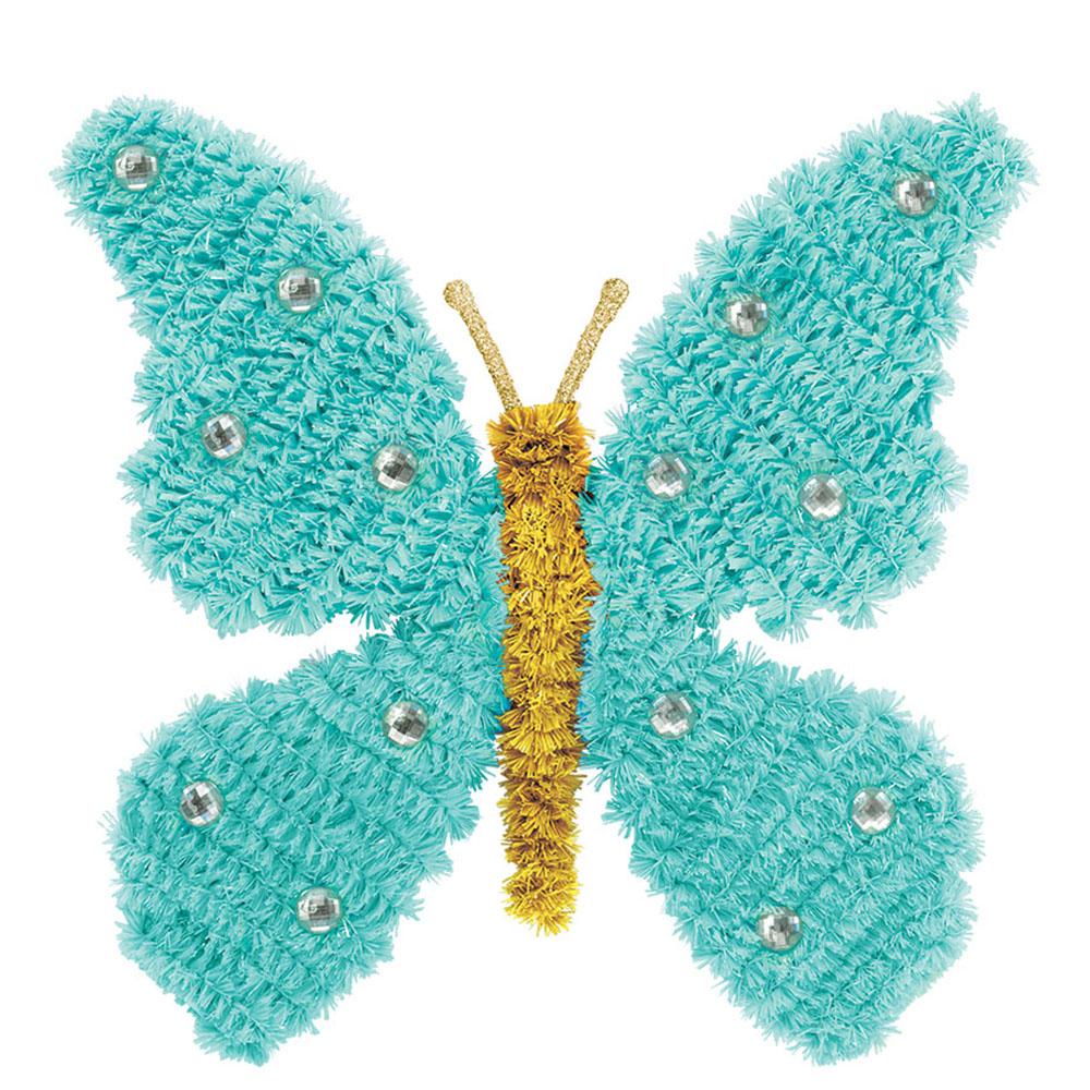 Mini 3D Tinsel Butterfly