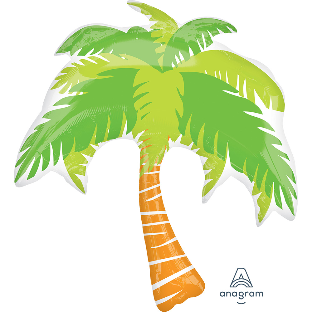 Summer Scene Palm Tree Super Shape