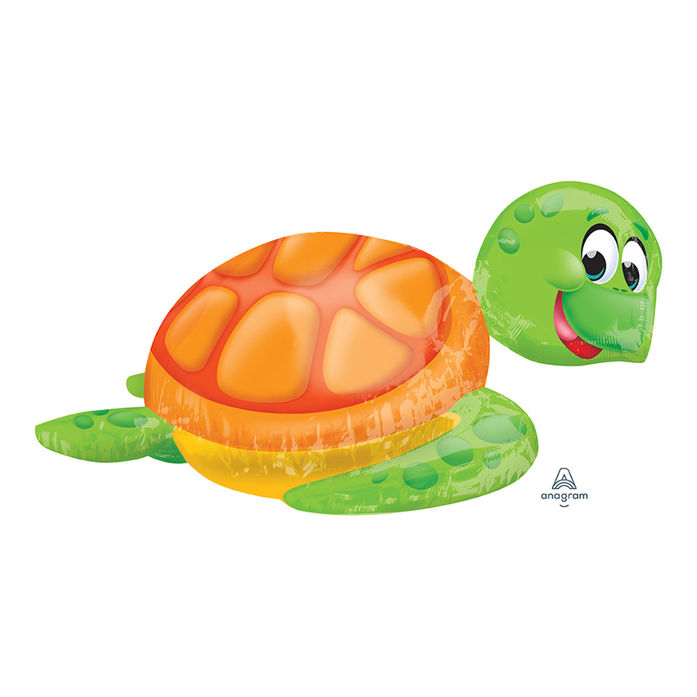 3D Silly Sea Turtle Ultra Shape