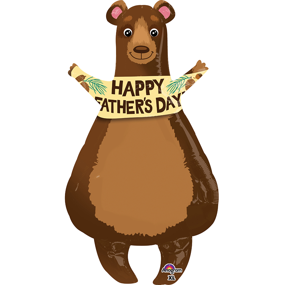 Father's Day Bear Super Shape