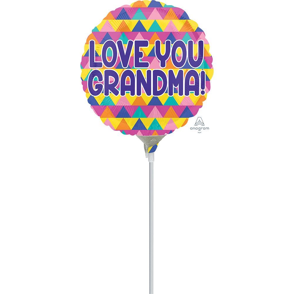 9″ Grandma Triangle Pattern