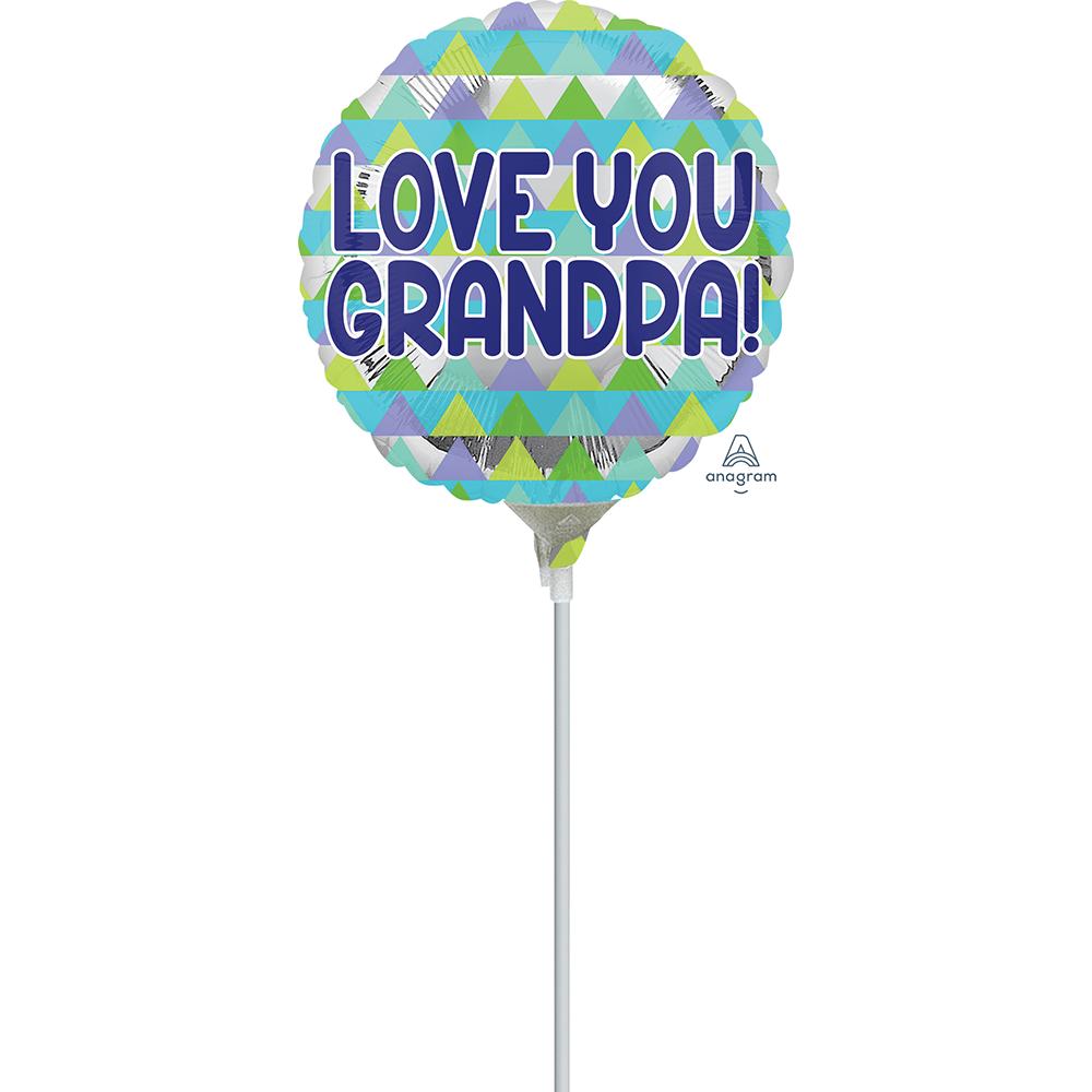 9″ Grandpa Triangle Pattern