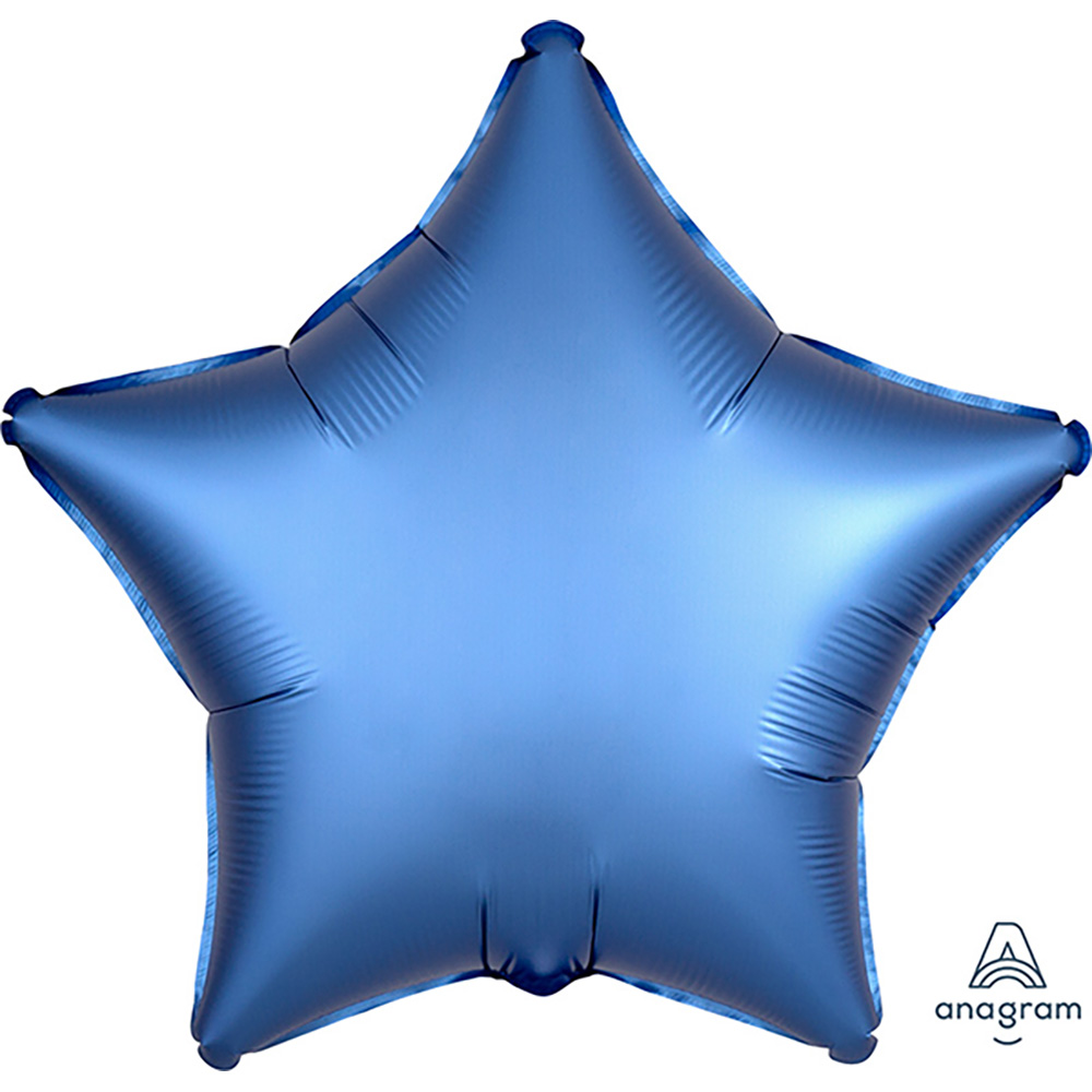 Satin Luxe Azure Star