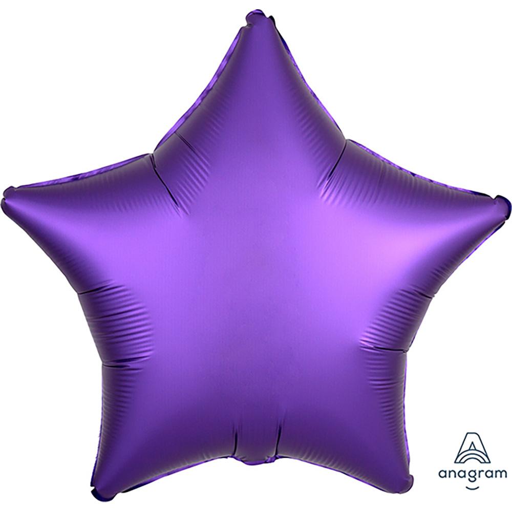 Satin Luxe Purple Royale Star