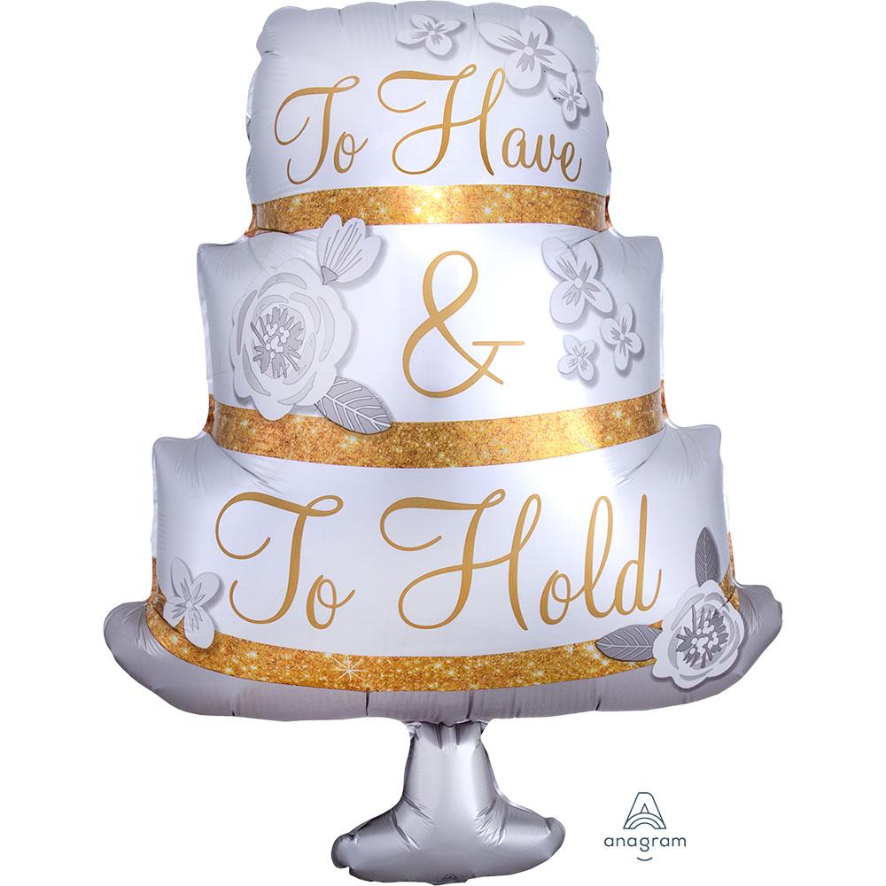 37998 Satin トゥ ハブ & トゥ ホールド ケーキ