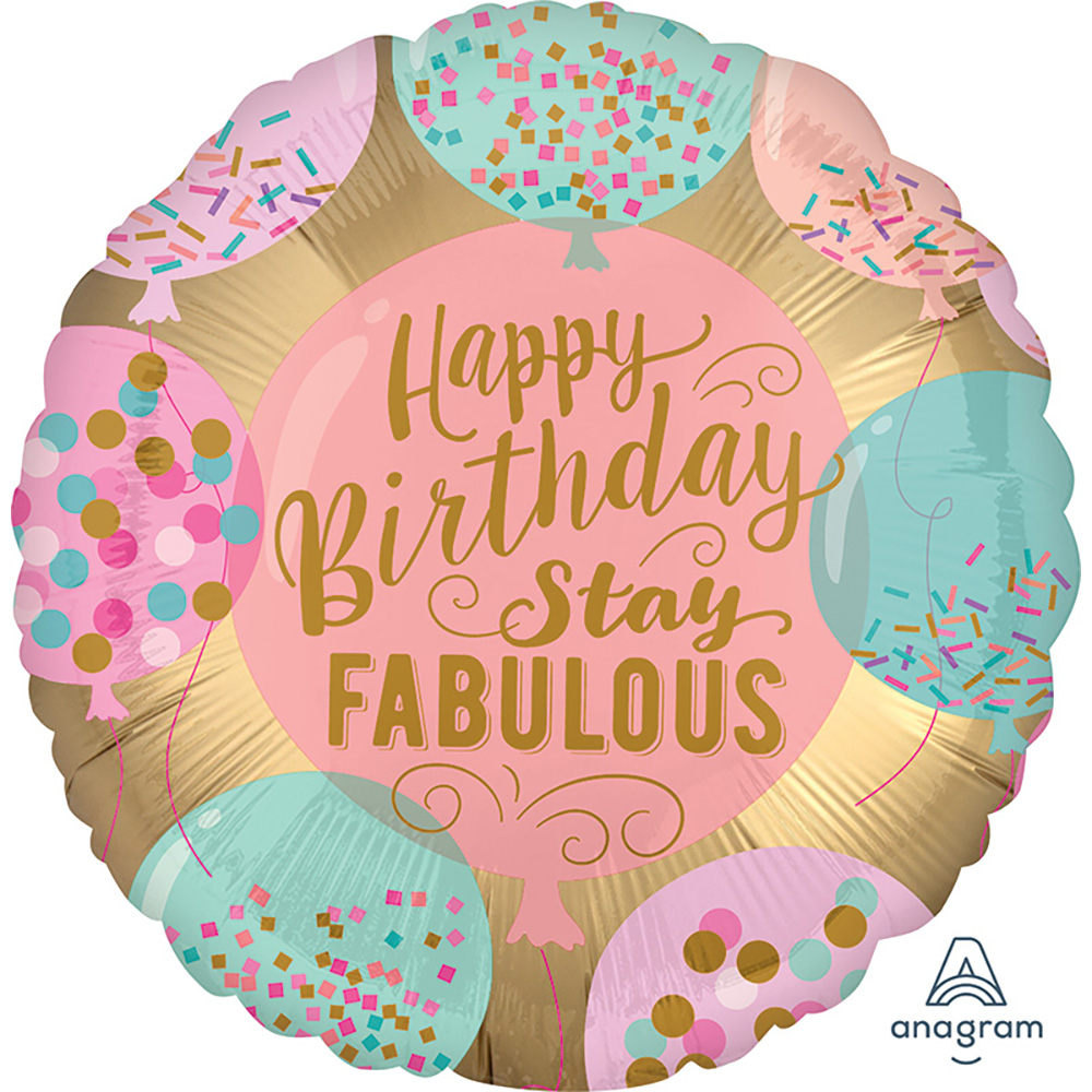 Satin Luxe HBD Stay Fabulous