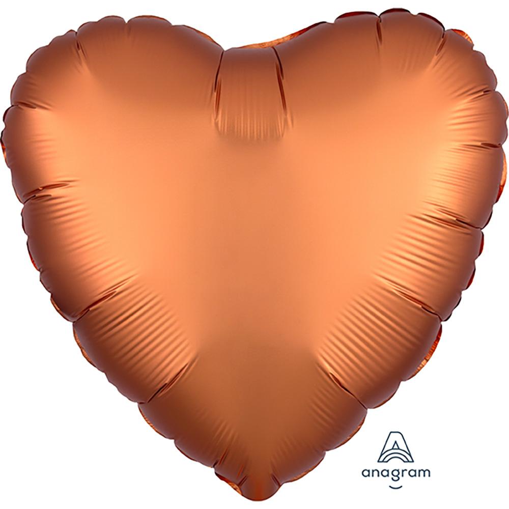 Satin Luxe Amber Heart