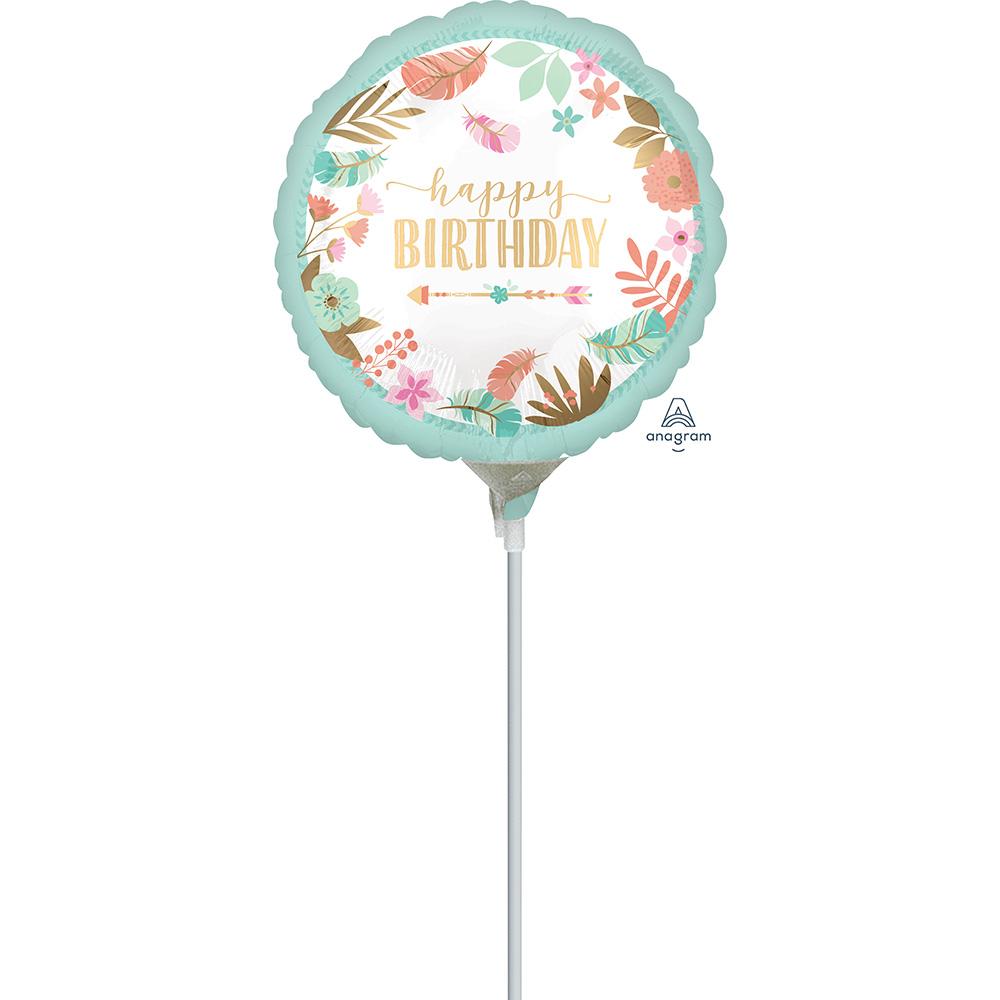 9″ Boho Birthday Girl