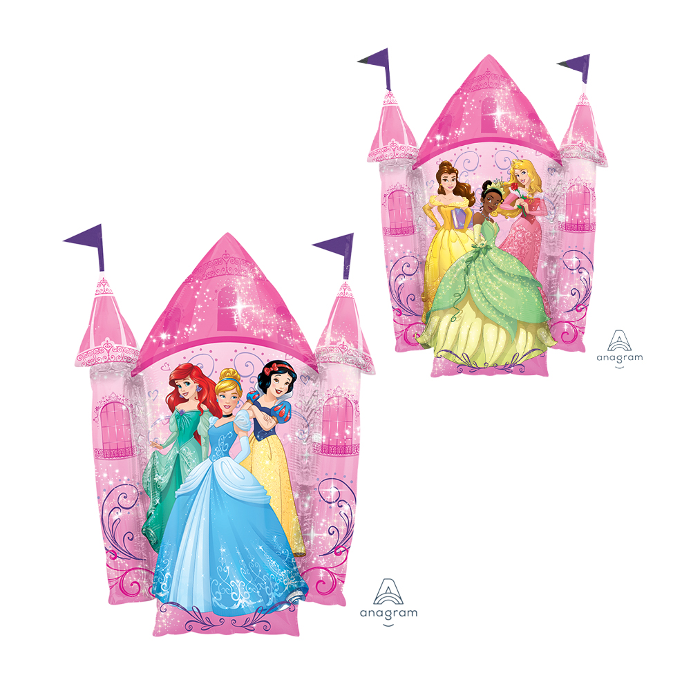 Multi-Princess Castle Super Shape