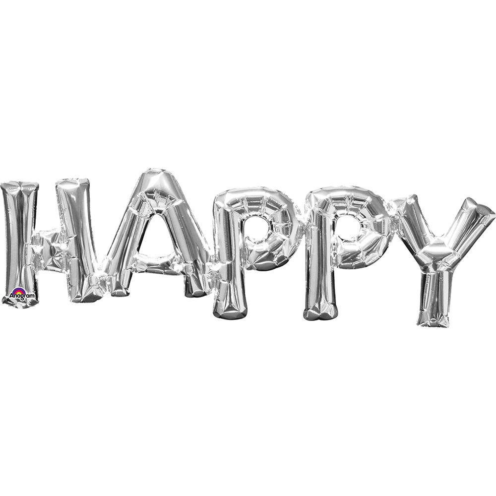 33100 「HAPPY」(シルバー)