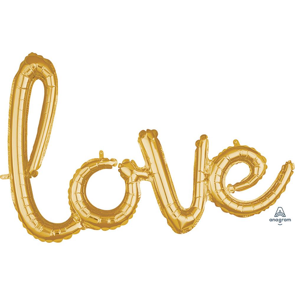 CI: Script Phrase love Gold