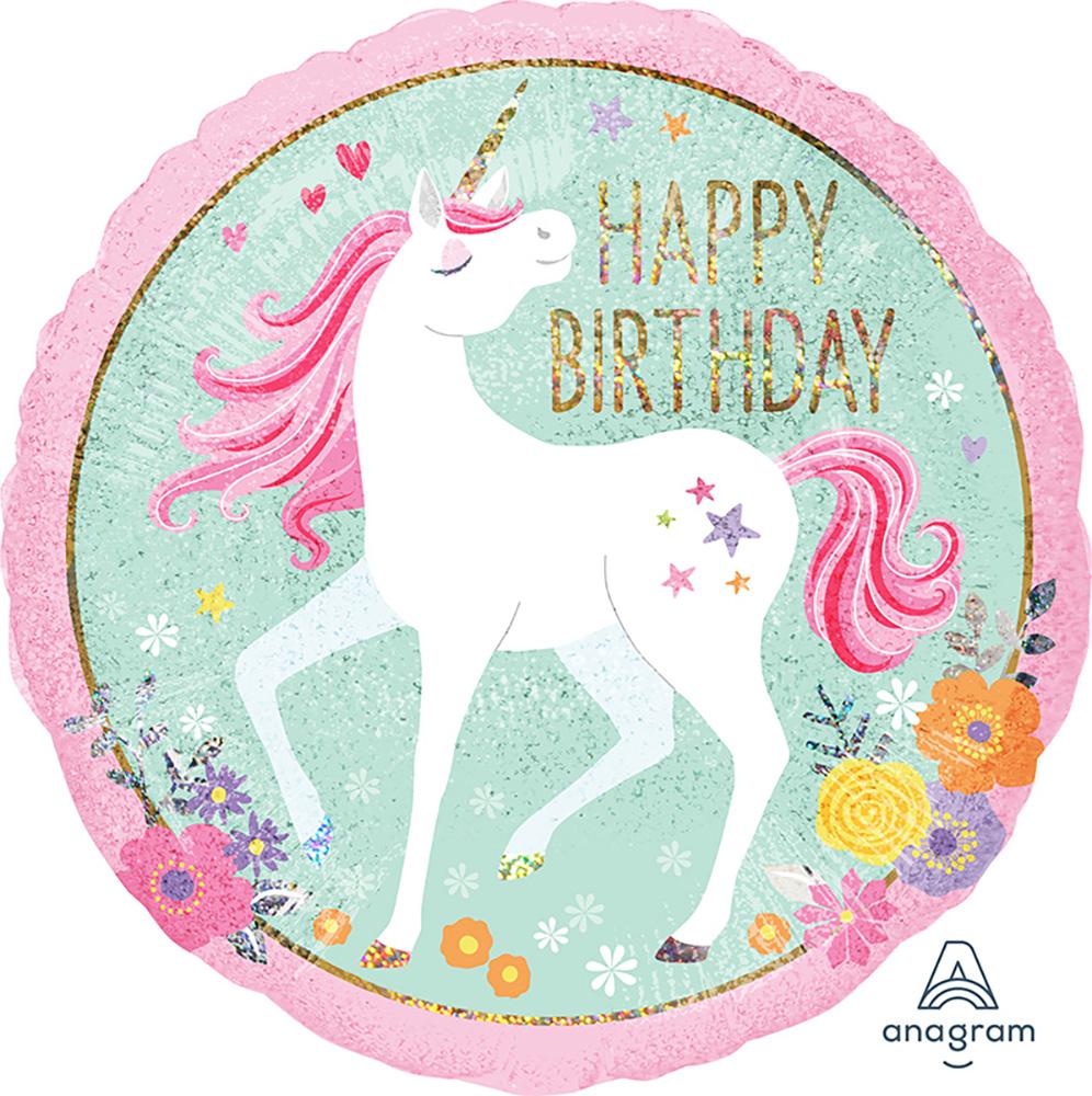 Magical Unicorn Happy Birthday