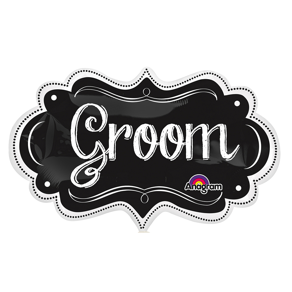 Groom Chalkboard Marquee