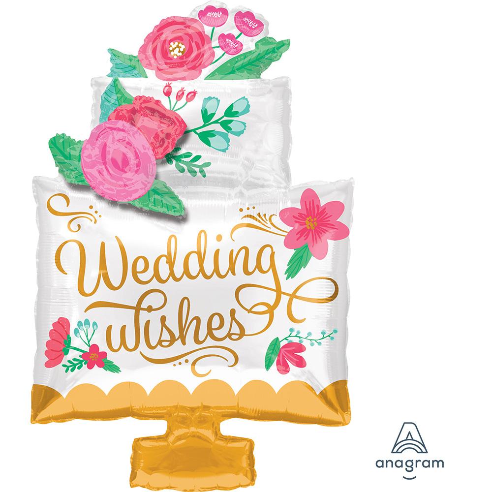 Wedding Wishes Cake