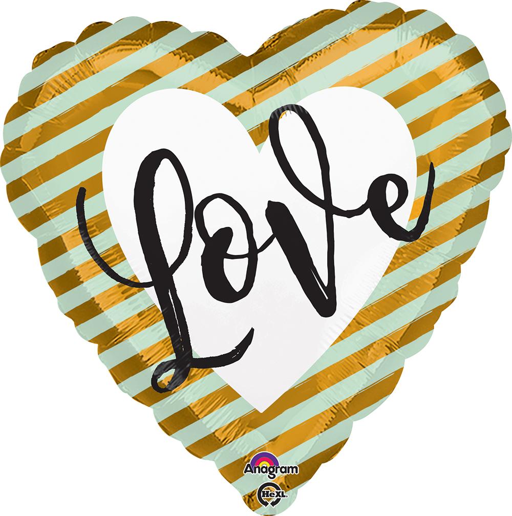Wedding Love Stripes