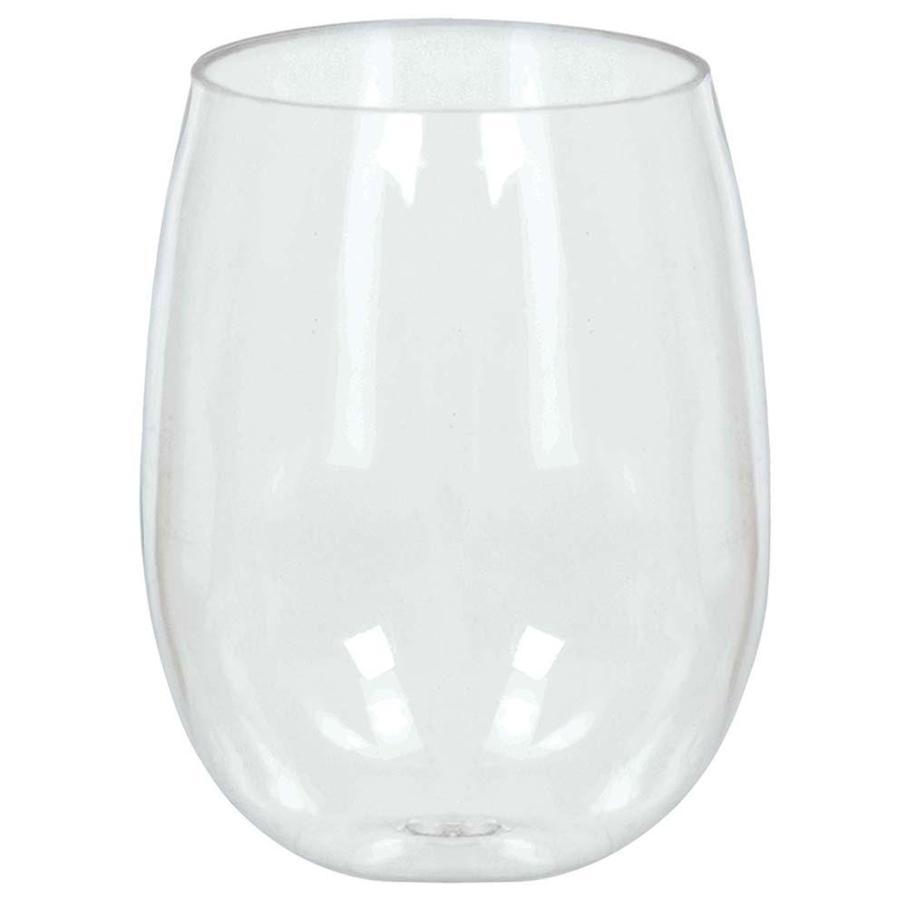 354444.86 ステムレス ワイングラス(クリア)