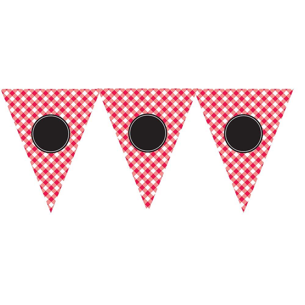 120158 パーソナライズ ペナントバナー『ピクニックパーティー』