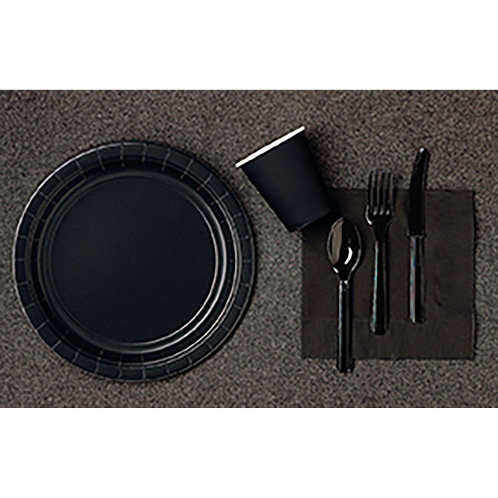 Solid Tableware Jet Black