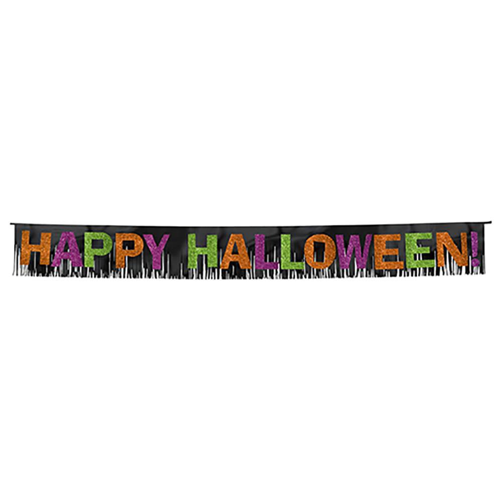 Large Fringe Banner Halloween