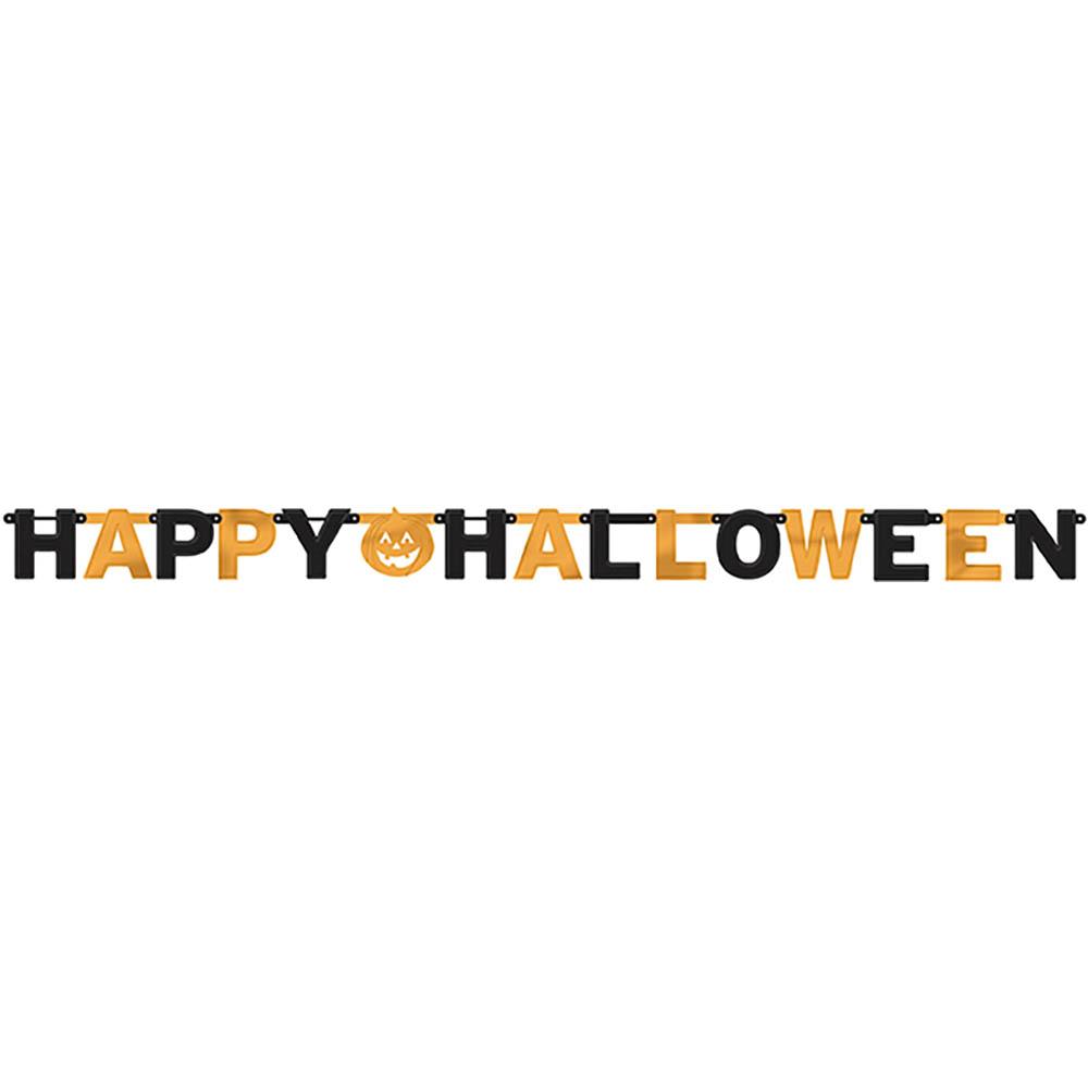 Letter Banner Happy Halloween