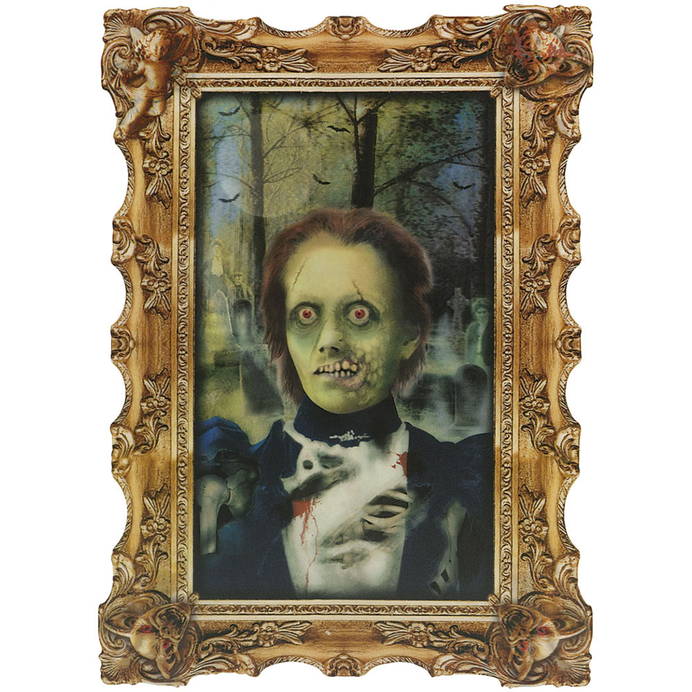 Lenticular Portrait Scary Ghoul