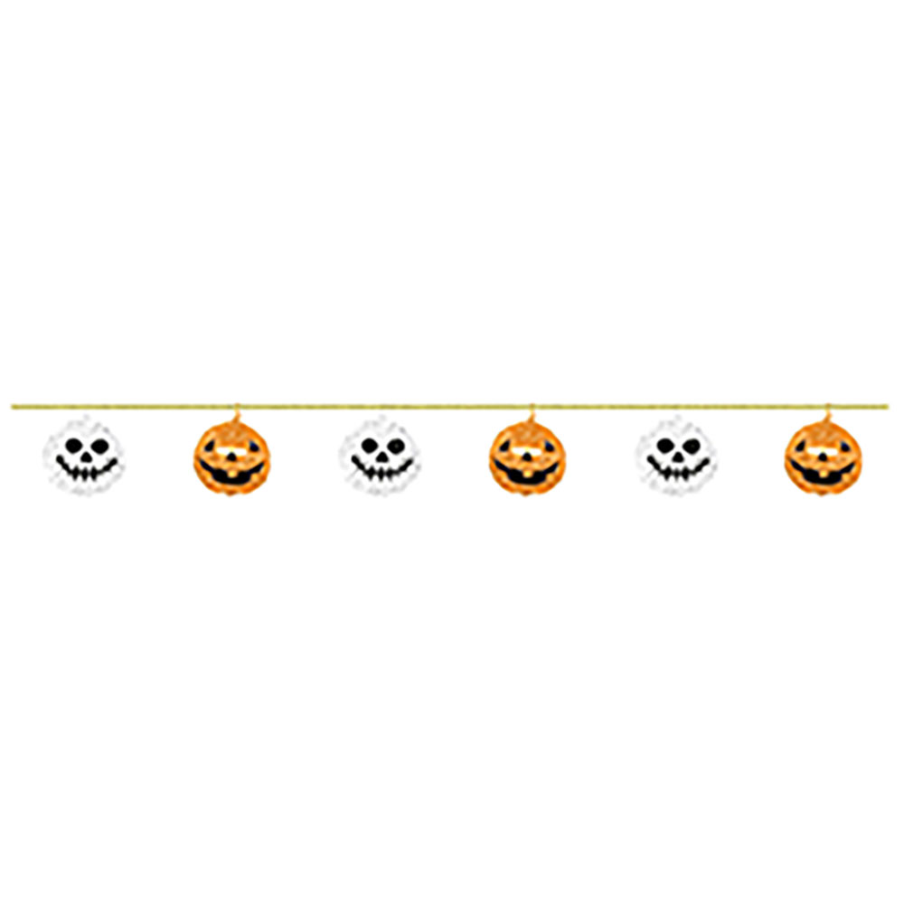 Paper Garland Halloween Ornament