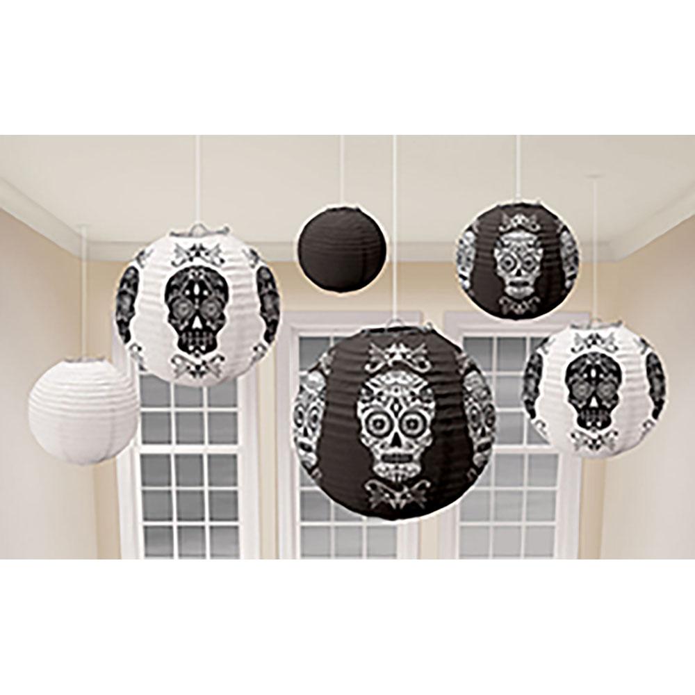 Paper Lantern Black & Bones