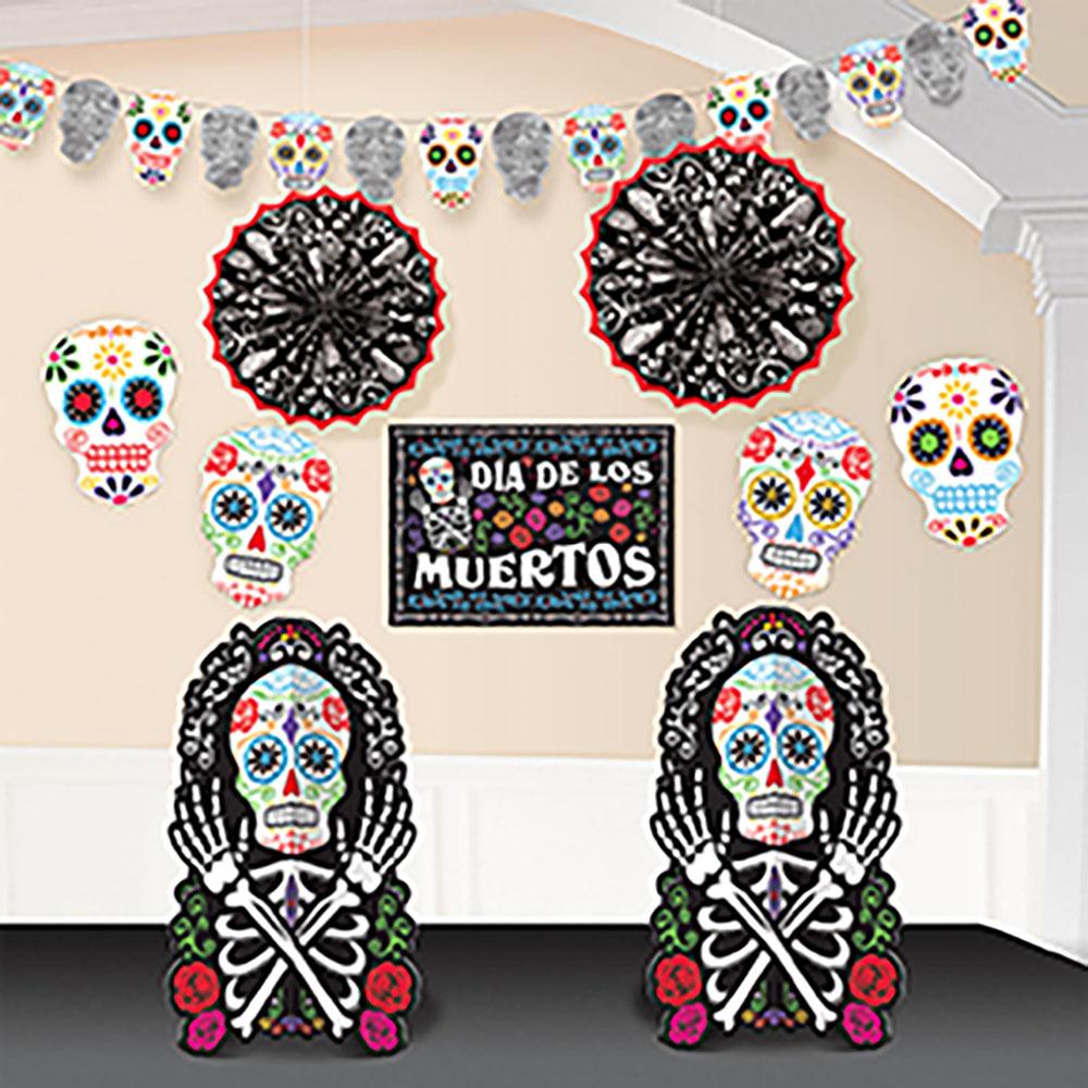 Room Decorating Kit Black & Bones