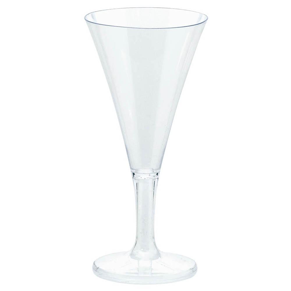 357804.86 ミニ シャンパン フルート 2.5oz.(クリア)