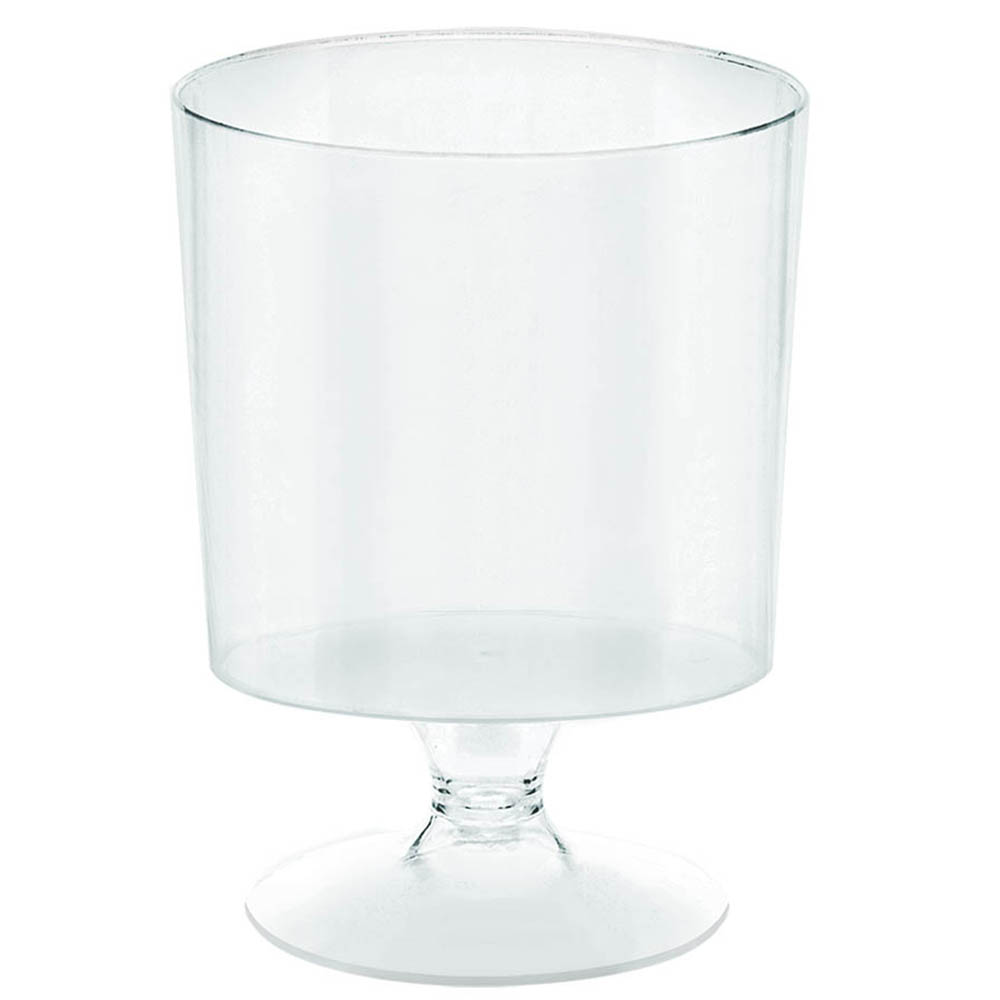 Mini Pedestal Cups Clear