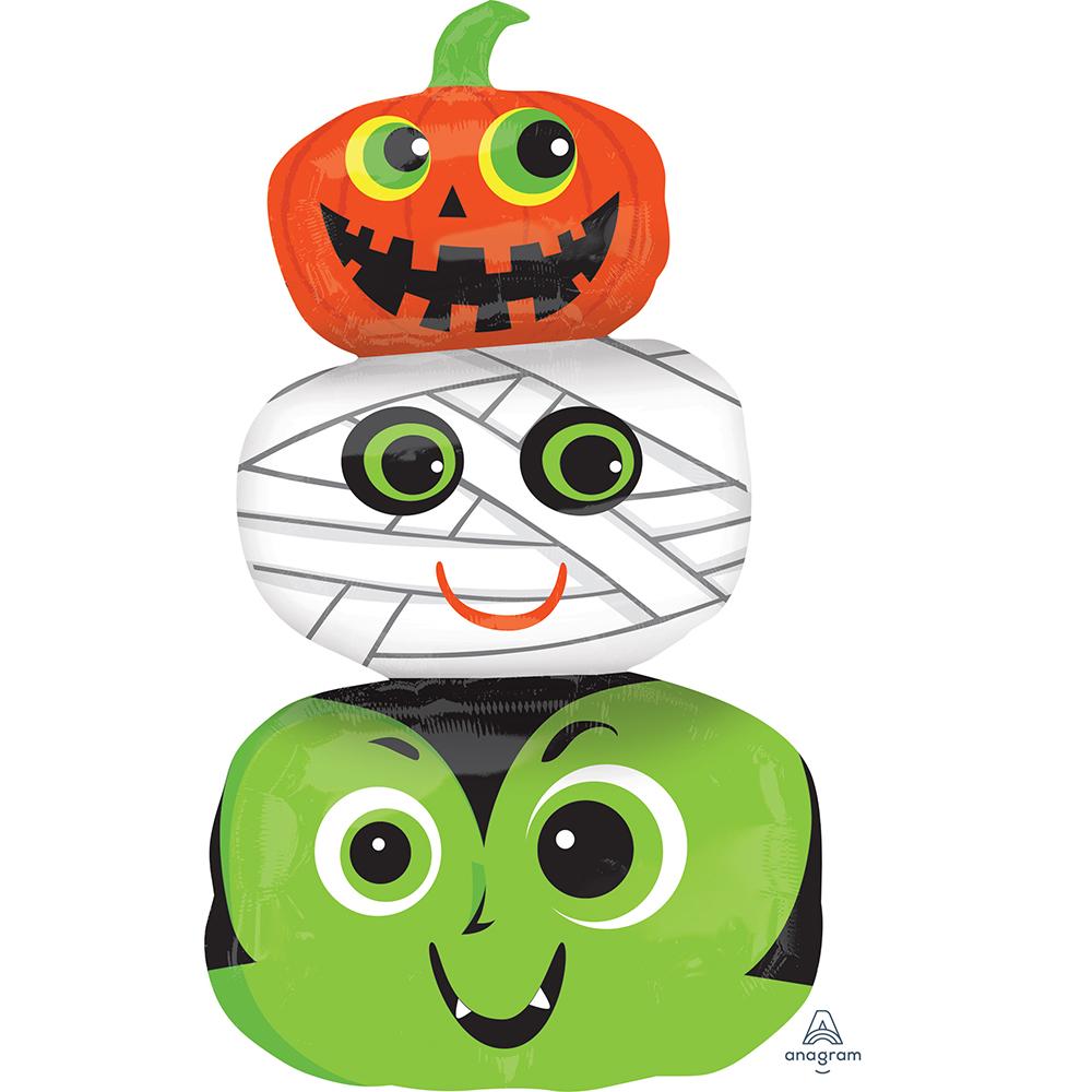 Halloween Heads Super Shape