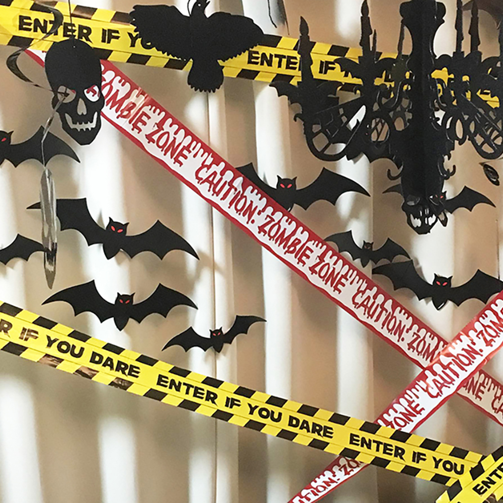 Tape Banners Halloween Fright