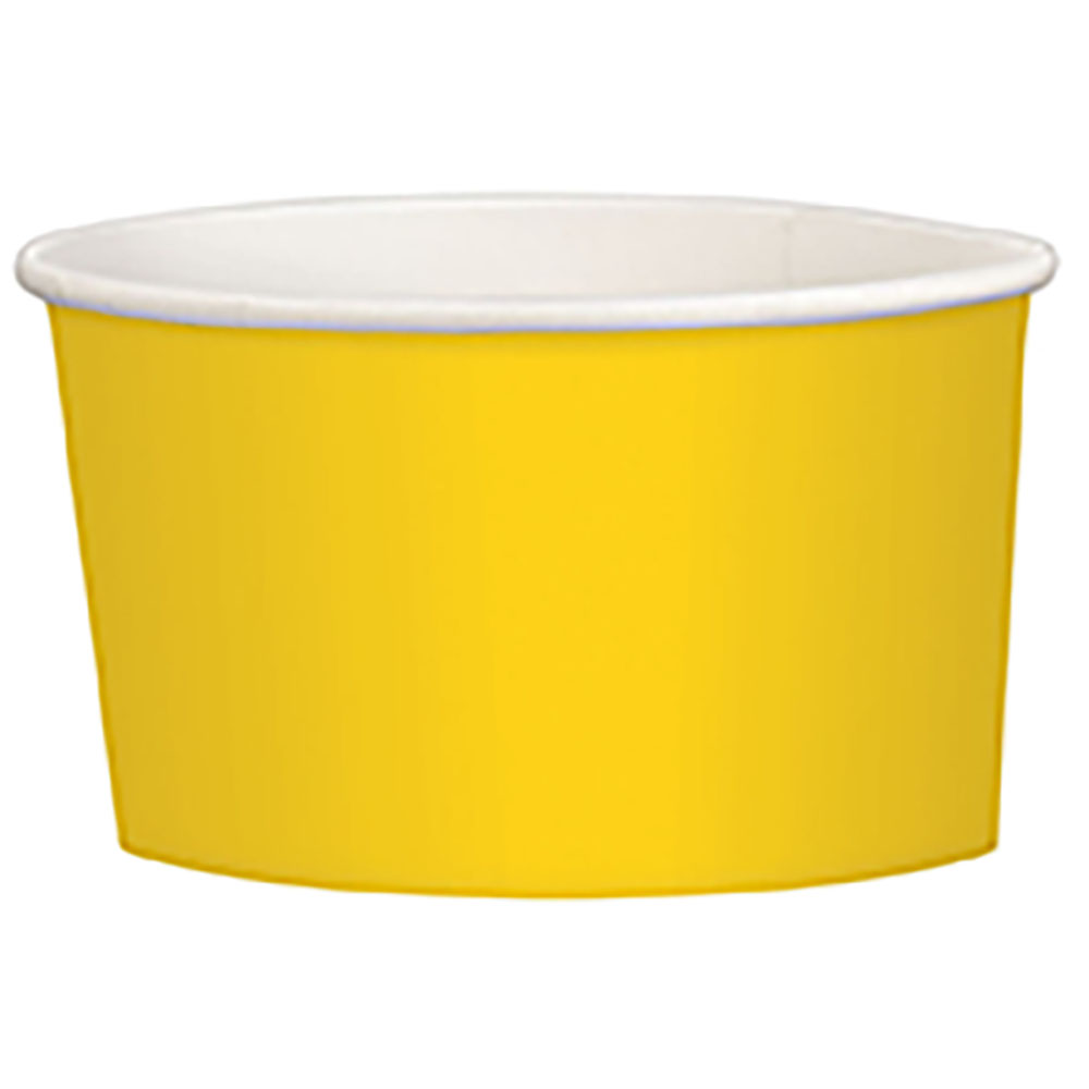 9.5oz Treat Cups Yellow Sunshine