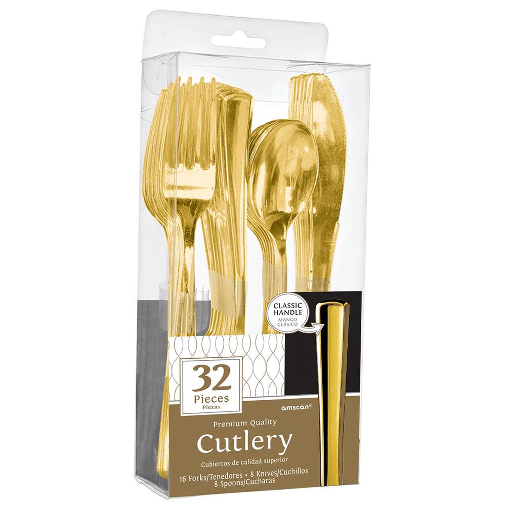 Premium Cutlery Assort Gold