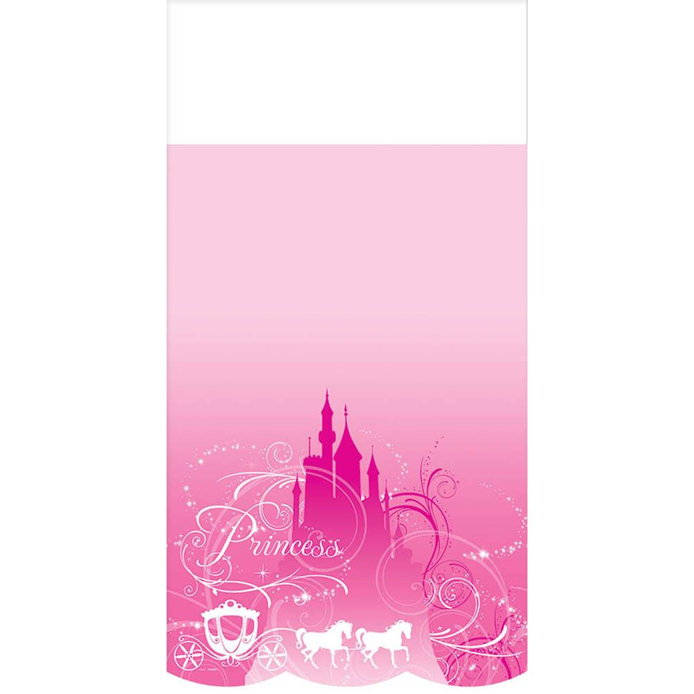 Plastic Table Cover Princess Sparkle