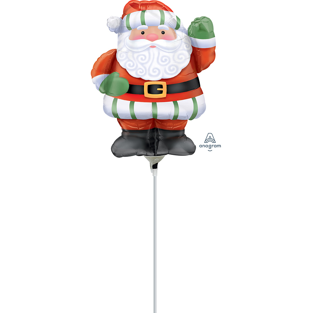Mini Shape Whimsical Santa