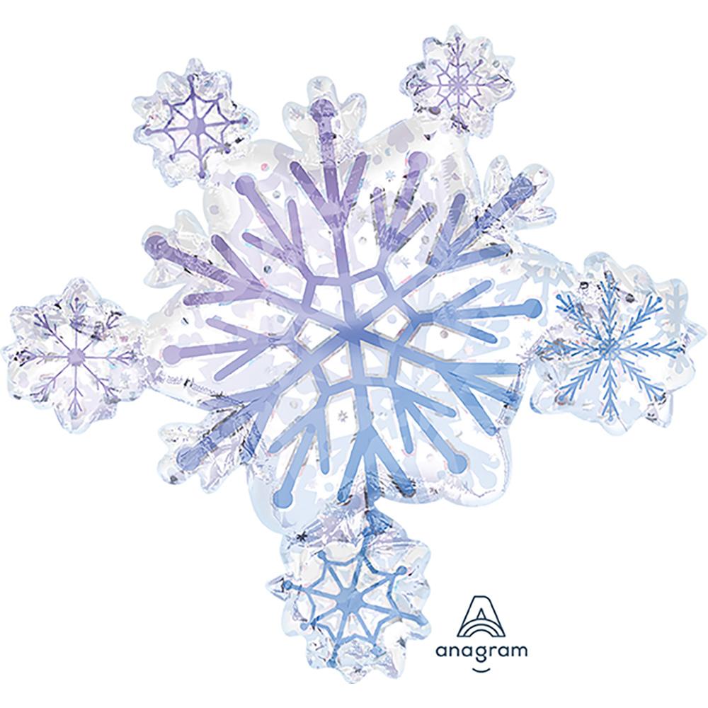 Prismatic Snowflake Cluster