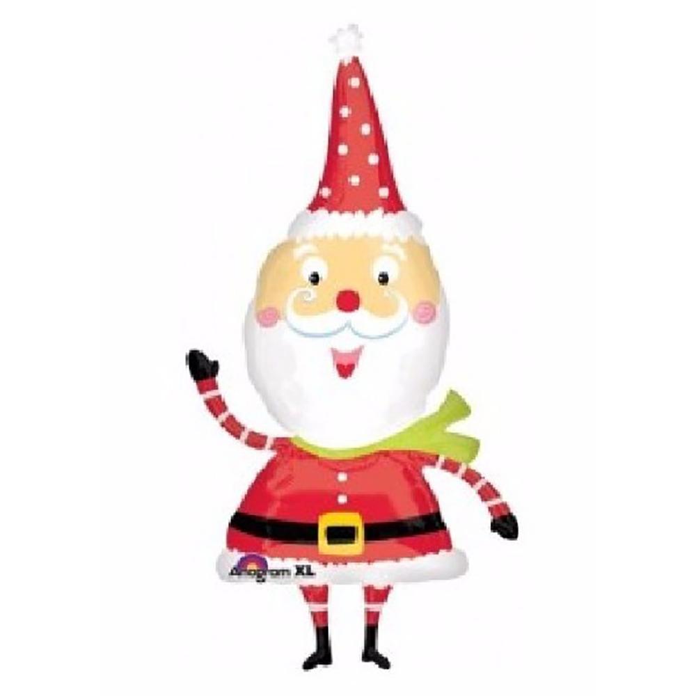Waving Santa Super Shape