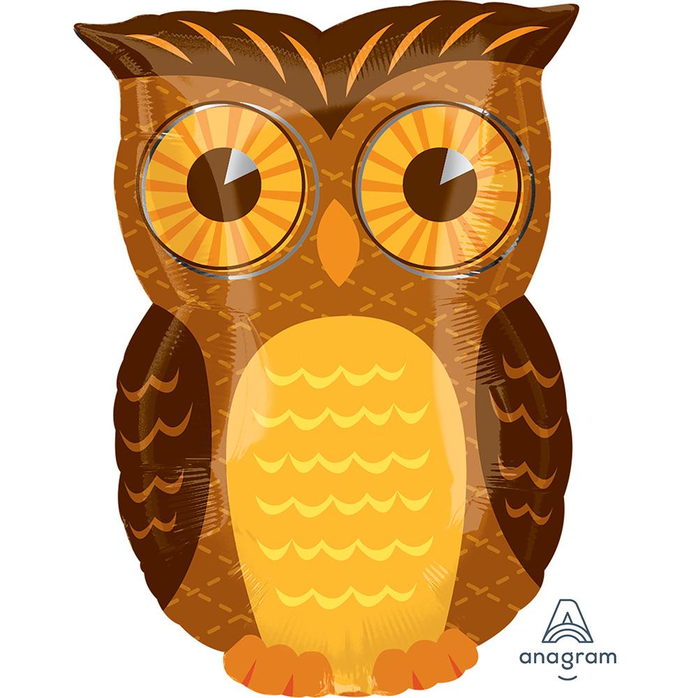 Fall Owl Junior Shape