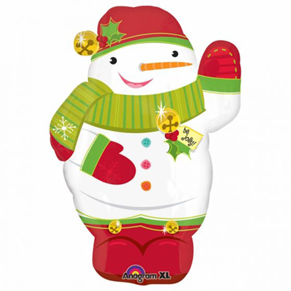 Jolly Snowman Junior Shape
