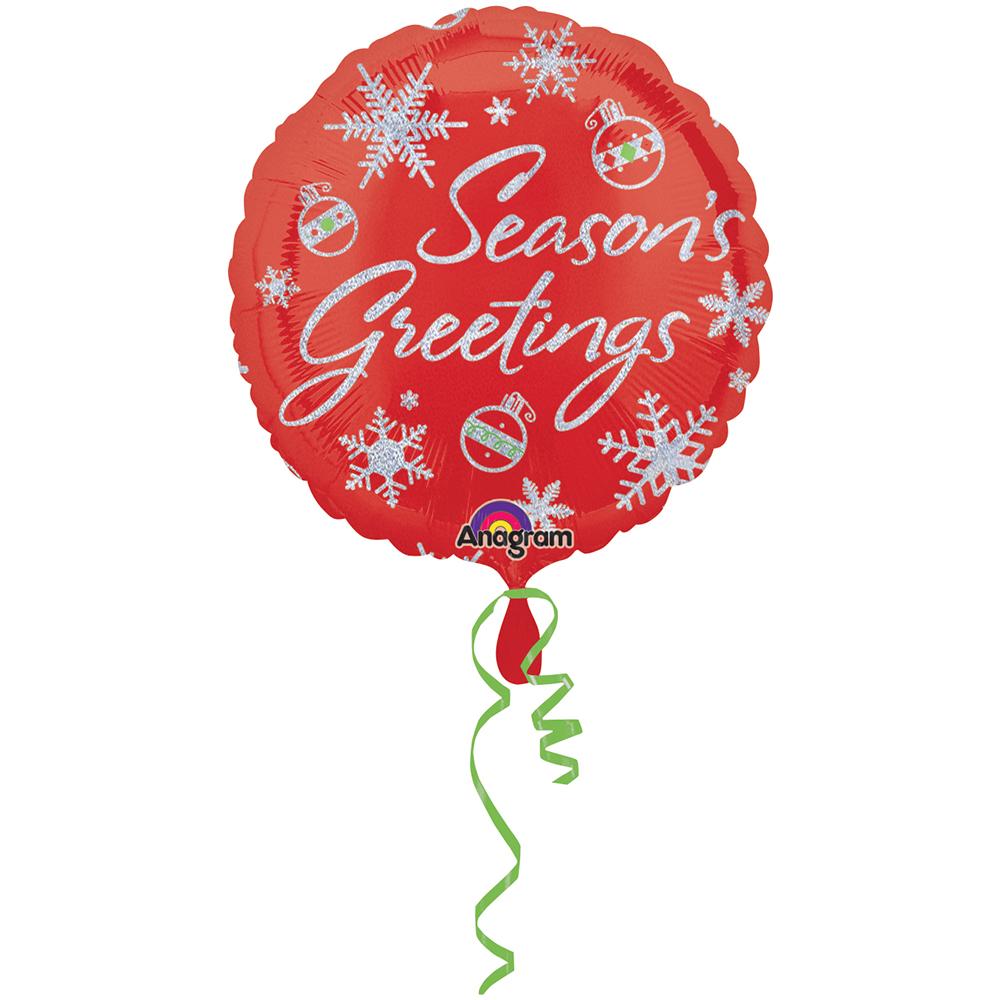 Season's Greetings Sparkles Holographic