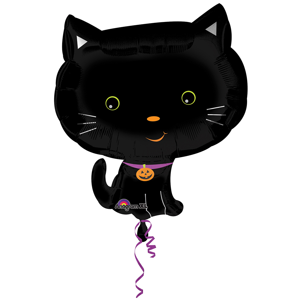 Cute Halloween Kitty Junior Shape