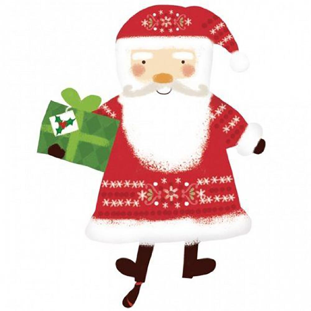 Gift Bearing Traditional Santa SS