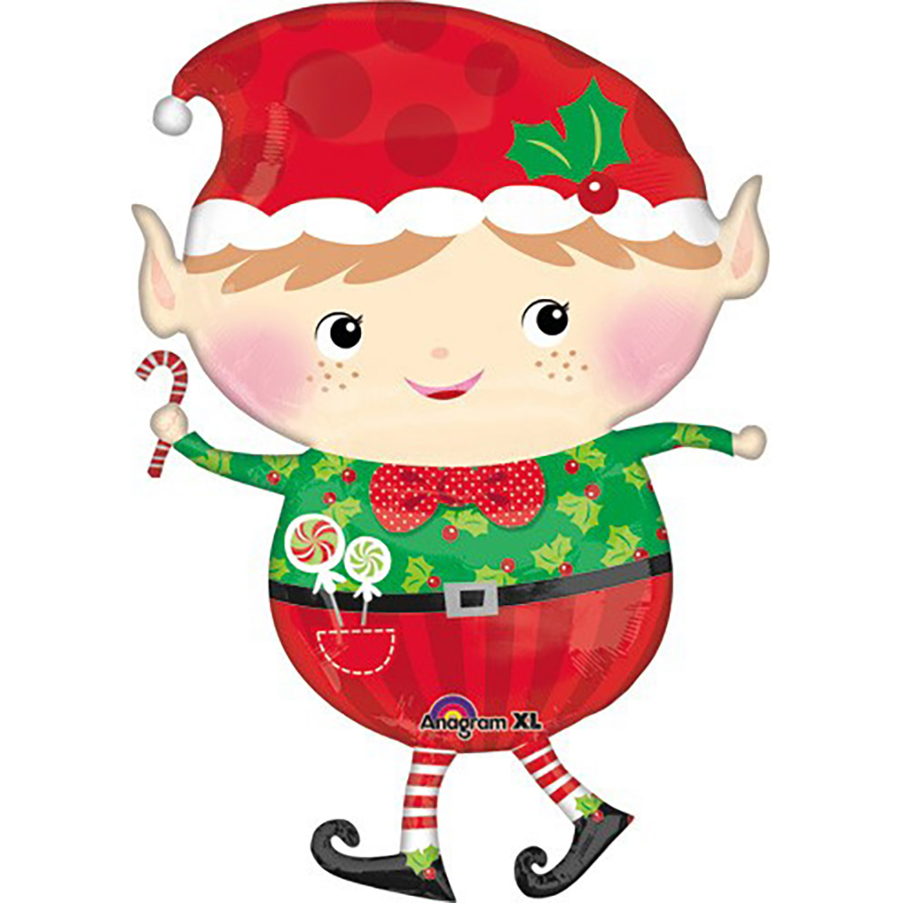 Jolly Elf Super Shape