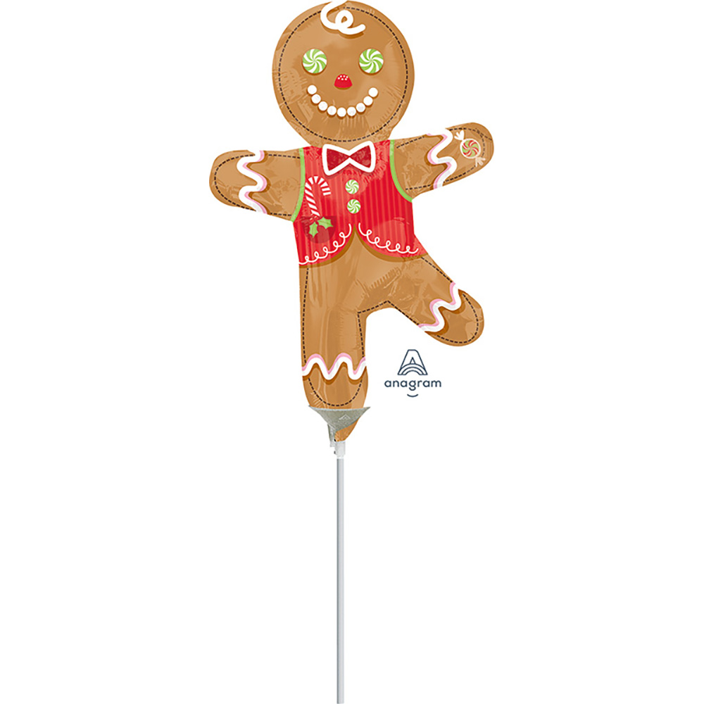 Mini Shape Candy Gingerbread Man