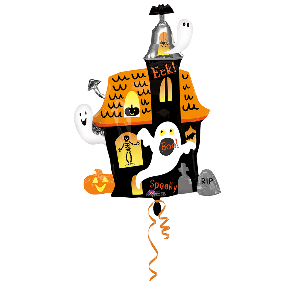 Halloween Haunted House Super Shape